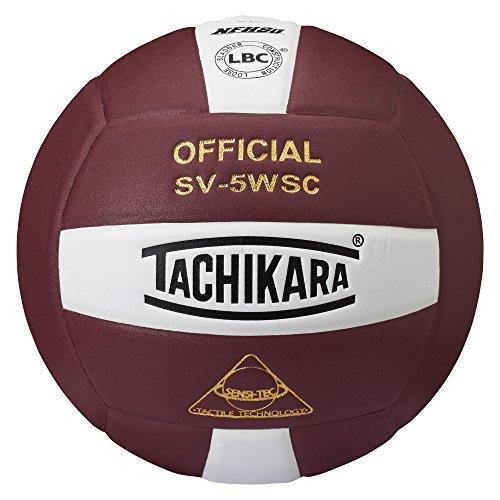tachikara-sv5wsccdw-sensi-tec-composite-high-performance-volleyball-cardinal-wei