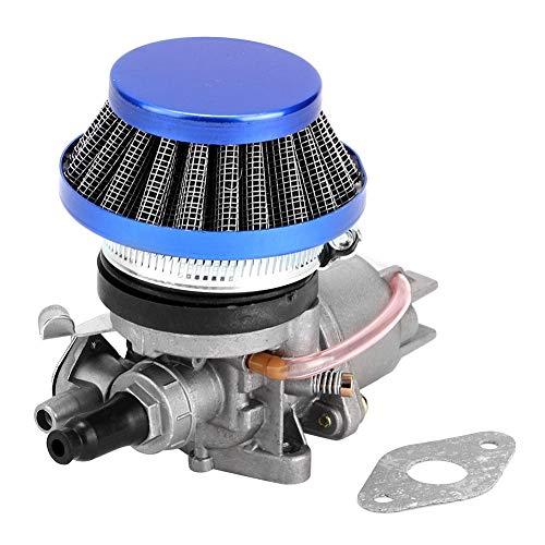 Vergaser Luftfilter Ersatz für 47ccm 49ccm Mini Motorrad Blau