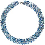 langani Halskette Malisa Damen-Kette mit den schwarzen Perle Handmade Since 1952