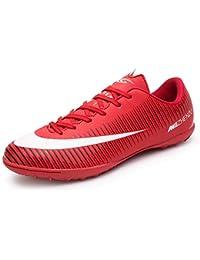 BOTEMAN Zapatillas de Fútbol Hombre Profesionales Zapatos de fútbol Spike Aire Libre Atletismo Zapatos de Entrenamiento Botas de Fútbol Juvenil