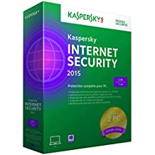 Kaspersky internet security 2015 (2 postes, 1 an)