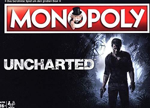 Monopoly Uncharted - das bekannte und beliebte Gesellschaftsspiel, trifft auf die Welt von UNCHARTED! (Deutsch) (Männer Des Schicksals Brettspiel)