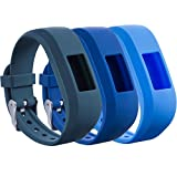 TPU-Silikon-Ersatzband für Garmin Vivofit jr. 2, passend für Kinder, speziell verstellbar, einfarbig