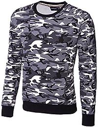 MT Styles sweat shirt contrasté homme SW-5208