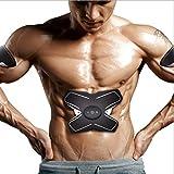 Elektrostimulatoren Massage-Riemen-elektrische Anreger-Muskel-Toner, EMS-ABS-Trainer, Abdominal- Tonungsgürtel, Gymnastik-Training und Haupteignungs-Gerät für Mann-Frauen, Körper-Eignungs-Training, da
