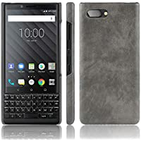 Valenth Blackberry Key2 Funda, Protección Hard Slim Non Slip Funda para Blackberry Key2