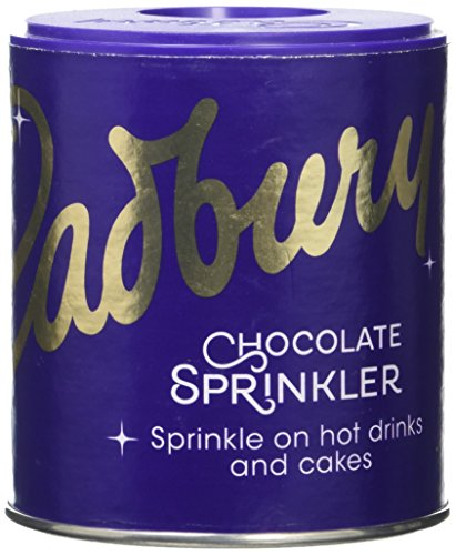 2 X Cadbury Sprinkler - To Sprinkle On Top Of Coffee And Hot Chocolate