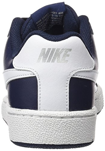 Nike Court Royale, Chaussures de Tennis Homme Bleu (Obsidian/white/metallic Silver)