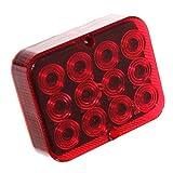 1x LED Nebelschluß-Leuchte Beleuchtung 12V für Trailer Anhänger KfZ Nebellampe Nebelleuchte Rot [A++] Neu Otto Harvest