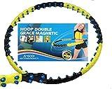 Hula Hoop 6001 Double Hoop 80 Massagekugeln mit eingearbeiteten Magneten 1,7 kg
