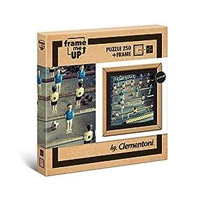 Clementoni- Puzzle con Marco 250 pzas Foosball, Multicolor (38504)