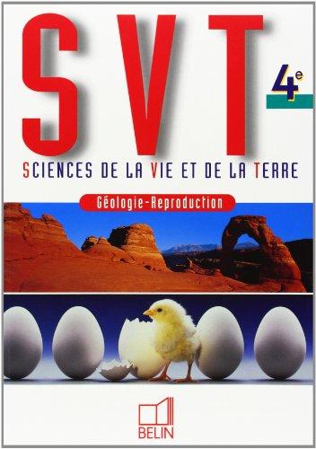 SVT 4ème : Géologie-Reproduction