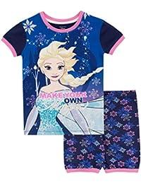007a409354 Disney Pijamas de Manga Corta para niñas Il Regno di Ghiaccio Frozen