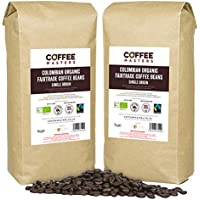 Coffee Masters Granos de Café Ecológicos de Comercio Justo de 4x1kg - Nuevo
