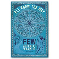 1ART1 Poster Inspiration 62493 know all the way, only A few adopt this approach It 91 x 61 CM