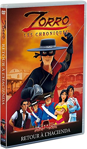 Zorro, les chroniques – Vol. 1 : Retour à la Hacienda [Francia] [DVD] 51rgn6htvwL