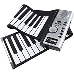 Piano Teclado Enrollable Flexible Roll Up - 61 Teclas
