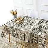 PQPQPQ Rechteckige Tischdecke Vintage Kunstleder Baumwolle, Wasser Einfache Couchtisch Tisch Teppiche Teppiche, 3 140 * 200cm
