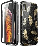 i-Blason Coque iPhone XR, Coque Complète Brillante Glitter Bumper Anti-Choc avec...
