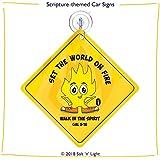 Set The World on Fire | Car Sign | Fun on The Run