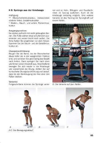 Thai-Boxen Training: Solotraining, Programme, Techniken