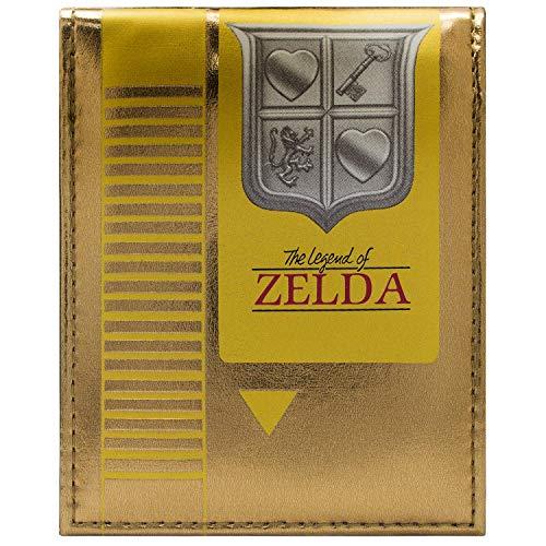 Kostüm Wind Waker - Legend of Zelda Retro NES Cartridge Gold Portemonnaie Geldbörse