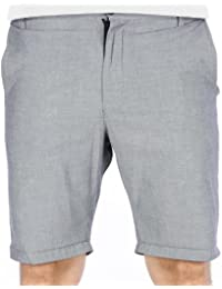 iriedaily Shorts Men GOLFER CHAMBRAY Anthra Mel