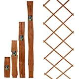 51rgpo37VkL. SL160  - BEST BUY# Marko Gardening 6FT Expanding Trellis Wooden Adjustable Expandable Garden Outdoor Climbing Plant (120cm x 180cm (4FT x 6FT)) Reviews and price compare uk