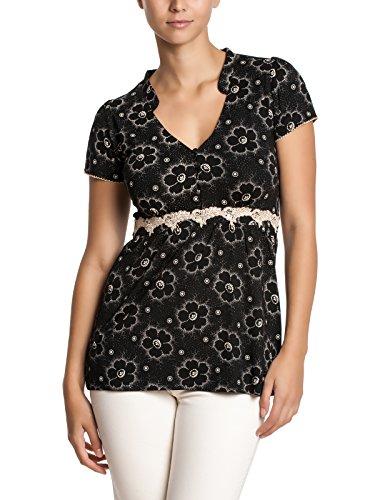 Vive Maria - Summer Garden Shirt, T-shirt da donna, nero (schwarz  (schwarz)), S