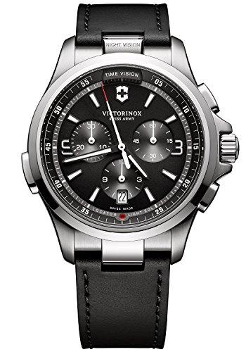 Victorinox Reloj Cronógrafo para Hombre de Cuarzo con Correa en Cuero 241785