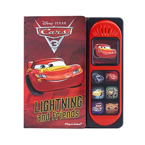 Cars 3 Little Sound Book