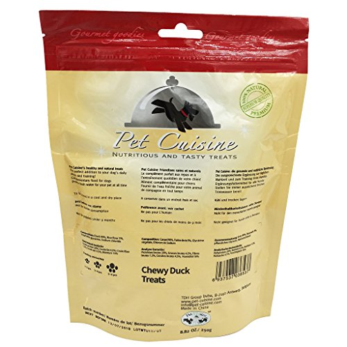 Pet-Cuisine-Dog-Training-Snacks-Puppy-Chews-Jerky-Chewy-Duck-Treats-250g