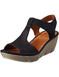 Clarks Women's Leather Fashion Sandals