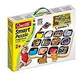 Quercetti 00230 - Smart Puzzle Farm immagine