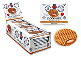 Daelmans Stroopwaffels | Caramel Stroopwaffle | Caramel Wafers - 39 g x 36 in a Box - Warm it up on Your Cup - Great for Those on The go Moments