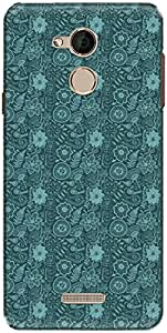 The Racoon Grip printed designer hard back mobile phone case cover for Coolpad Note 5. (water mead)