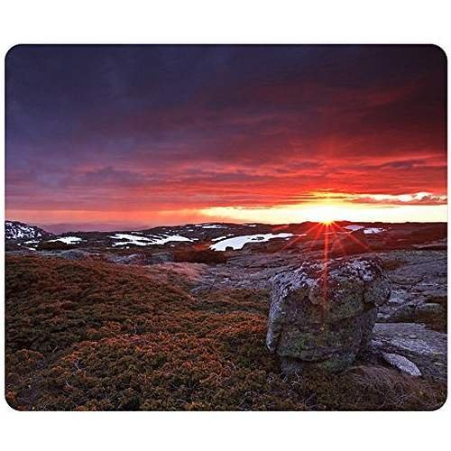 frizzing-sunset-at-serra-da-estrela-portugal-gaming-mouse-pad-unique-personalized-oblong-shaped-mous