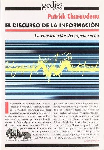 Discurso de la información mediática por Patrick Charadeau