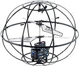 Simulus Copter: 3D-Flugobjekt mit 3,5-Kanal-IR-Fernsteuerung GH-360.globe (RC-Hubschrauber im Käfig)