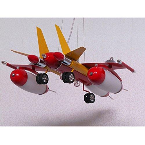Die Erntesaison Rote Kind-Flugzeug-Lichter-Jungen-Schlafzimmer-Lichter -E14 Lampe * 5 - 3