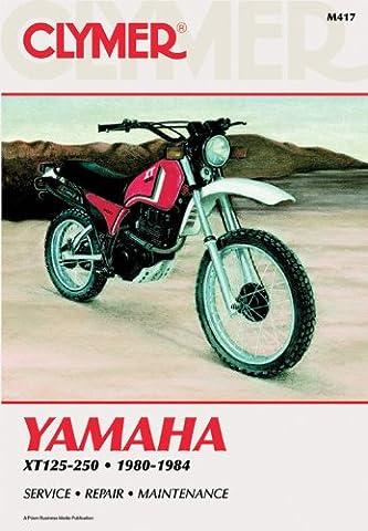 Yamaha XT125-XT250, 1980-84: Clymer Workshop