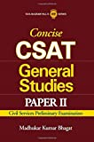 Concise CSAT General Studies: Civil Services Preliminary Examination (Paper - 2) 1st  Edition price comparison at Flipkart, Amazon, Crossword, Uread, Bookadda, Landmark, Homeshop18