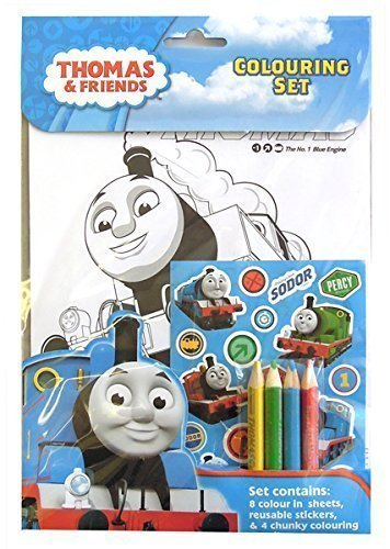 Anker THCST Thomas & Friends Colouring Set