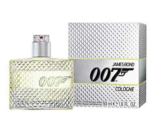 James Bond 007 Cologne After Shave Lotion Natural Spray - Pflegendes Rasierwasser - Erfrischender Duft für Herren - 1er Pack (1 x 50ml) -