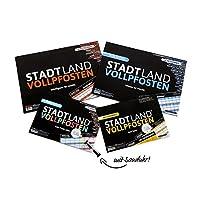 DENKRIESEN-STADT-LAND-VOLLPFOSTEN-FAMILY-PACK-mit-2-Minuten-Sanduhr-STADT-LAND-FLUSS-MEGA-PACK-innovative-Spielesammlung DENKRIESEN – Stadt Land VOLLPFOSTEN® – Family-Pack mit 2-Minuten Sanduhr – Stadt Land FLUSS MEGA Pack – Innovative Spielesammlung -