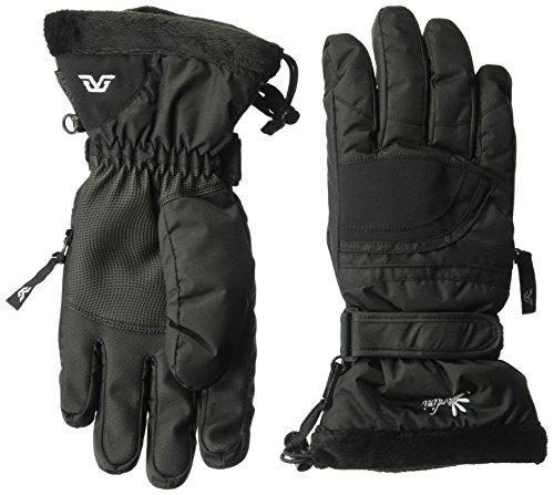 Gordini Lily II Handschuh, damen, schwarz (Handschuh Gordini-schwarz)
