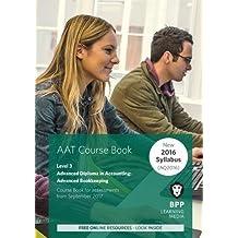 AAT Advanced Bookkeeping: Coursebook