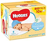Huggies Pure Salviette Umidificate per Bambini - 560 Salviette - Huggies - amazon.it