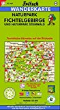 Fritsch Karten, Nr - 52, Naturpark Fichtelgebirge und Naturpark Steinwald (Fritsch Wanderkarten 1:50000) -