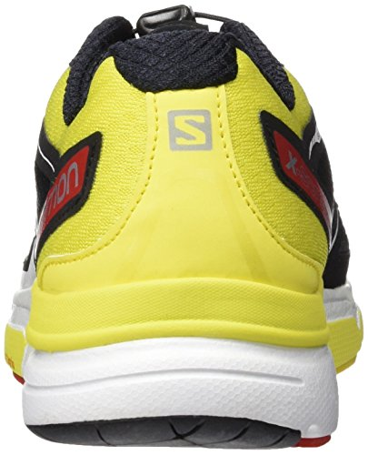 Salomon X-Scream 3d, Scarpe da Trail Running Uomo Nero (Negro (Black / Corona Yellow / Radiant Red))